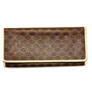 Authentic, like new Celine monogram wallet